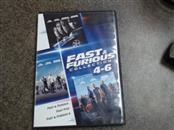 DVD MOVIE DVD FAST & FURIOUS COLLECTION 4-6
